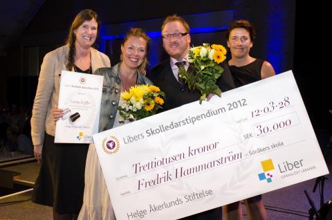 Libers skolledarpris har delats ut – Söråkers Skola i Timrå vann!