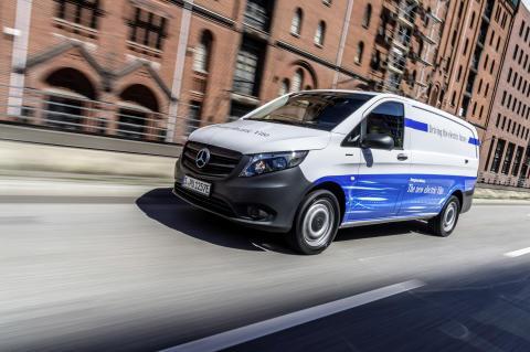 Mercedes-Benz frigiver danske priser på 100 % elektrisk Vito