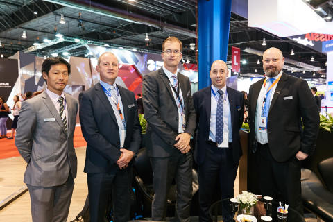 UTAS signing ceremony at Singapore Airshow