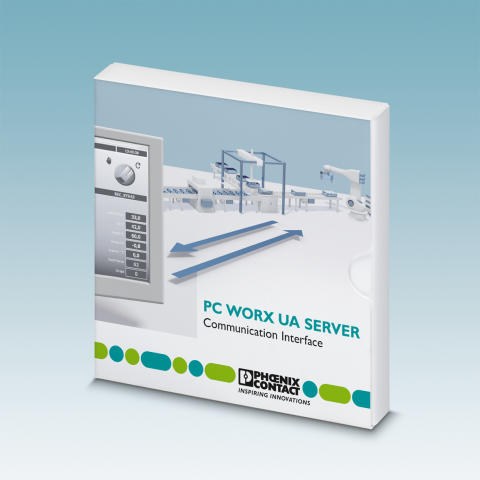 OPC UA server for PC Worx-based controllers
