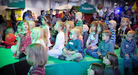 Träffa Sveriges största 7åring på underBARA BARN-mässan i Älvsjö