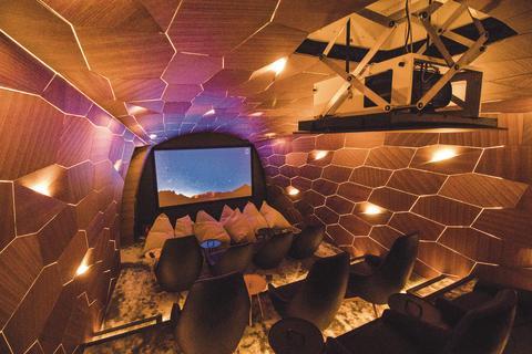A home cinema like no other
