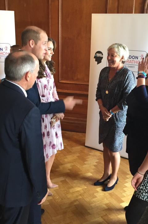 Pippa Creasy meets The Duke of Cambridge