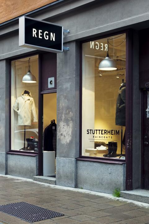 Stutterheim shop - Åsögatan Södermalm in Stockholm