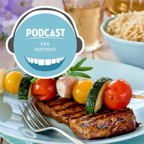 MatPrat med fire podcast-episoder om grillmat