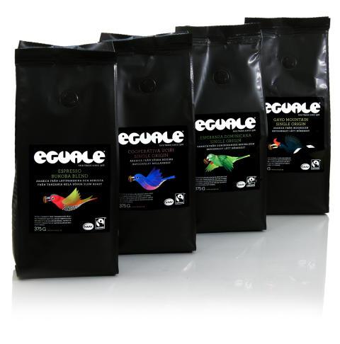 Ny förpackningsstorlek på Eguales bryggkaffen