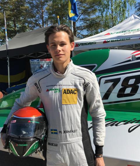 Morgan Jernfast tog fjärdeplatsen i Formula 4-VM