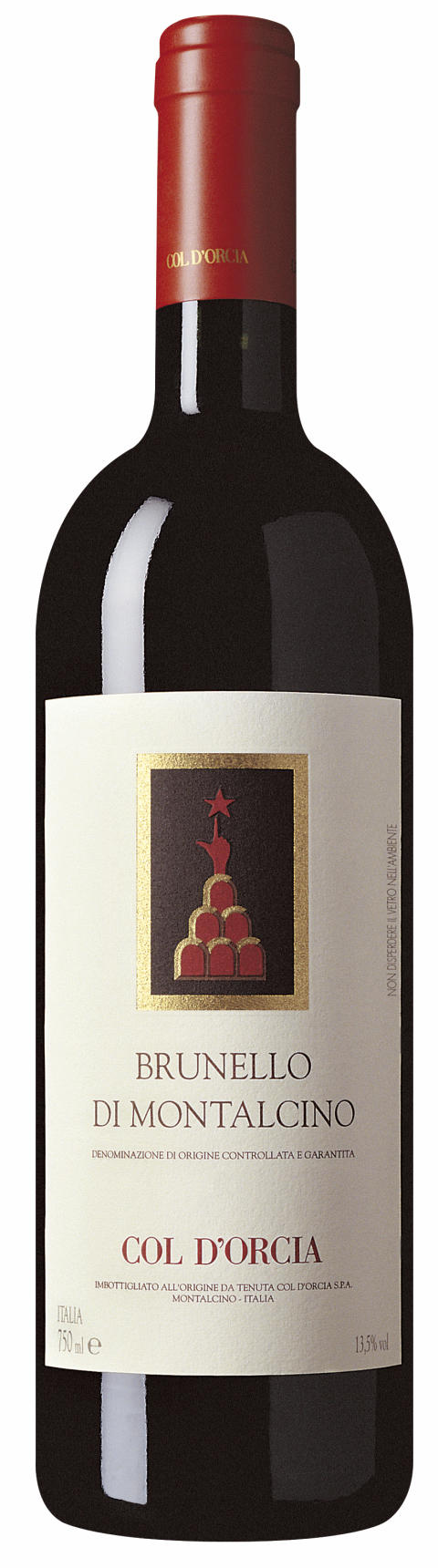 """Årets bästa röda vin"" - Col d'Orcia Brunello di Montalcino 2010"