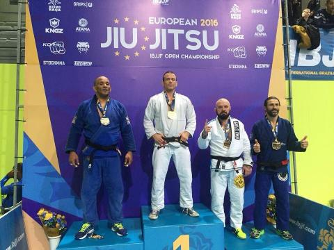 UK athletes are celebrating success after making their mark at the IBJJF European Open Championship