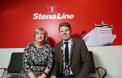 Stena Line continues sponsorship of NI's premier logistics dinner