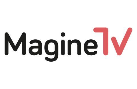 Magine TV Logo black