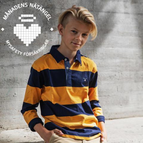 """Månadens nätängel augusti – Theo """"Theoz"""" Haraldsson"""