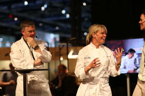 Bocuse d'Or Europe 2014 - Elaine Asp, Hävvi i Glen