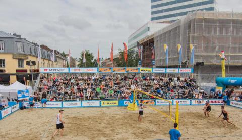 Swedish Beach Tour i Umeå 2013