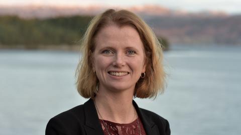 Hege Økland, CEO des norwegischen Clusters NCE Maritime, will mit dem Urban Water Shuttle den öffentlichen Nahverkehr auf´s Wasser bringen.