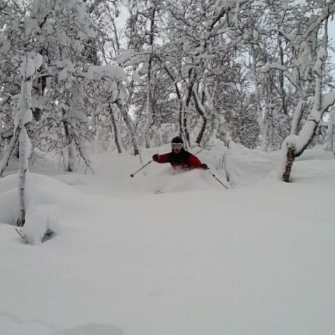 Stora mängder snö öppnar liftar i Hemavan Tärnaby