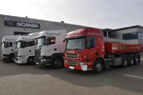 Så kommer Scanias Fuel Tour 2014-karavane til Aarhus