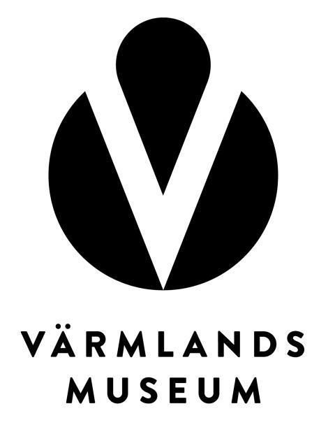 Värmlands Museum Logotyp svart