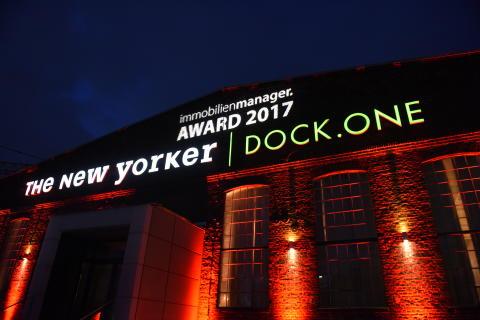 immobilienmanager Award 2017:  Der Gala-Abend im Kölner DOCK.ONE