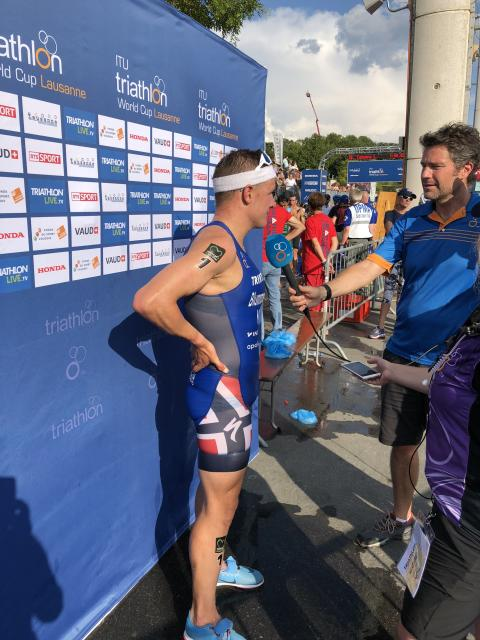 Lausanne World Cup Triatlon
