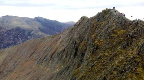 Image - ACR - Crib Goch ridge