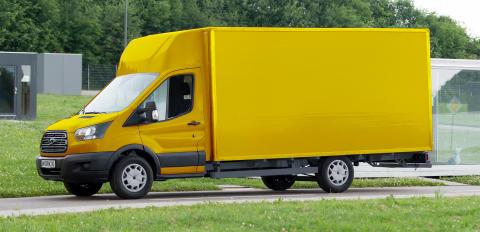 Ford samarbejder med Deutsche Post om el-varebil