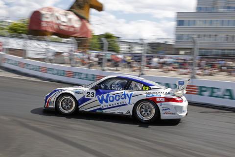 Ola Nilsson - Porsche Carrera Cup - Solvalla