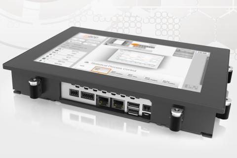 Styrsystem och multi-touch HMI i en enhet