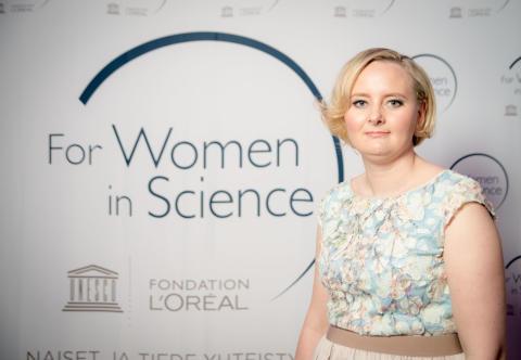 Henna Tyynismaa, For Women in Science -apuraha 2016