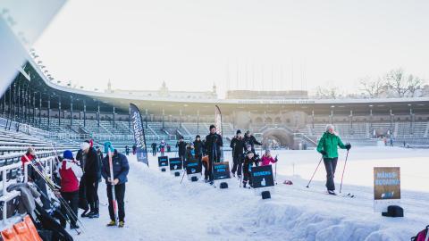Alla på snö 2018