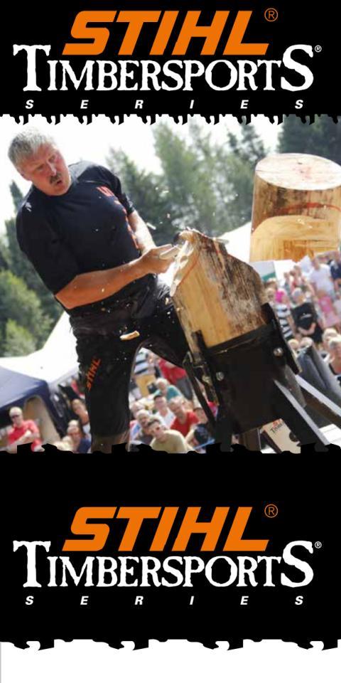 STIHL TimbersportS - diciplinerne
