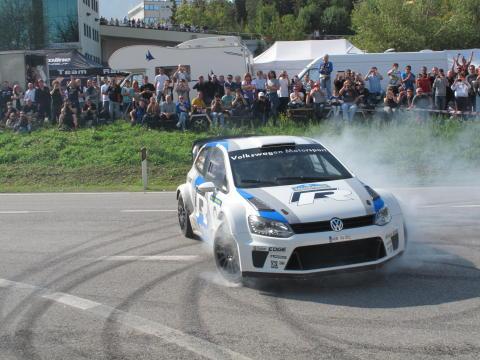 Toppförare till Volkswagen inför World Rally Championship