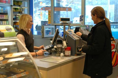 Butiksrånen har minskat med 67 procent på Statoil