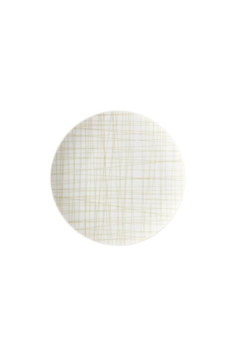 R_Mesh_Line Cream_Plate 17 cm flat