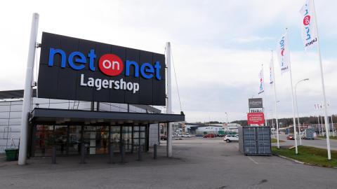 NetOnNets nya Lagershop i Birsta