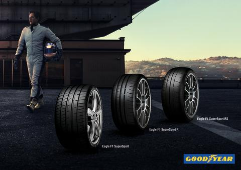 Goodyear Eagle F1 SuperSport-sortimentet gör sin offentliga debut på den internationella bilsalongen i Genève 2019