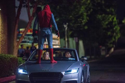 Ny Audi A8 får debut i  'Spider-Man: Homecoming'