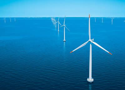 Skyddande gas kan ge storskalig vindkraft i Nordsjön