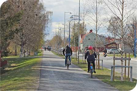 Upprustningen av tjälskadade gång- och cykelvägar fortsätter