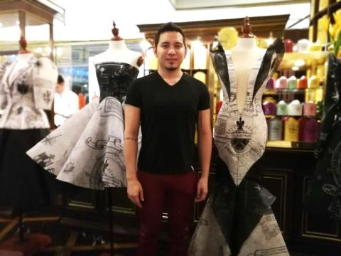 Epson Philippines partners with John Herrera on his latest digitally printed Spring/Summer 2018 collection 'Armada'
