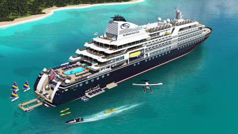 SeaDream's 'Innovation' expedition cruise ship