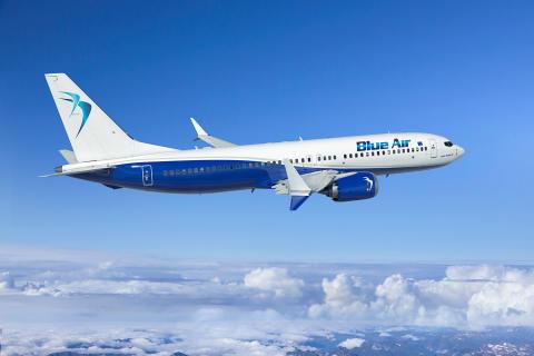 The European airline carrier Blue Air