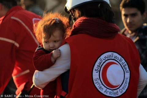 Röda Korsets ordförande vittnar om svåra förhållanden i Damaskus