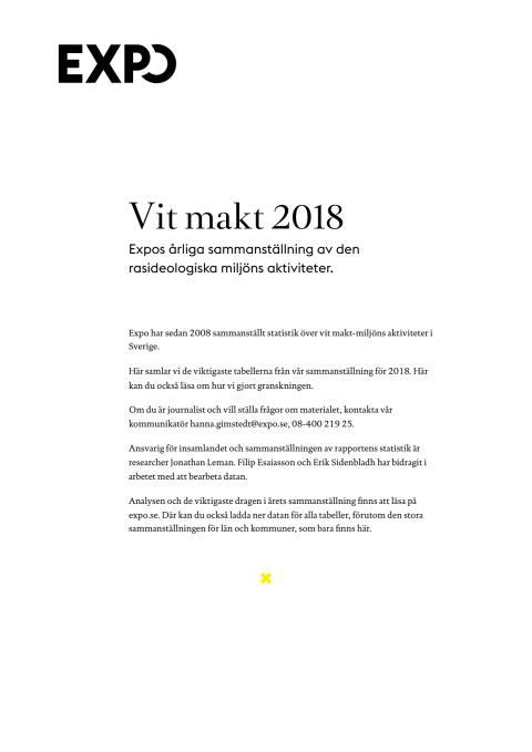 Vit makt 2018