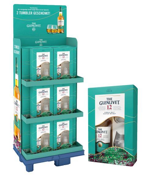 The Glenlivet schafft Genussmomente mit edlen Tumblern