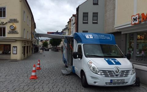 Beratungsmobil der Unabhängigen Patientenberatung kommt am 27. März nach Kempten.