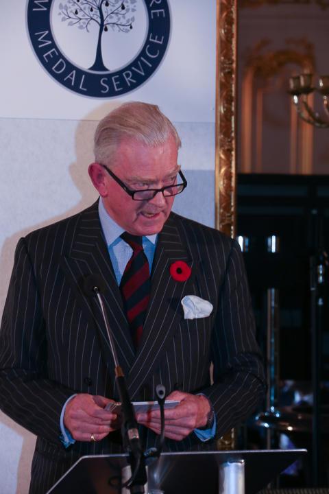 Chairman of Waterloo 200, Major General Sir Evelyn Webb - Carter