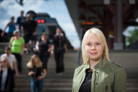 Miljöpartiet satsar på Roslagsbanan