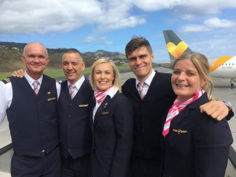 Thomas Cook Group Airline donates € 71,200 for breast cancer research