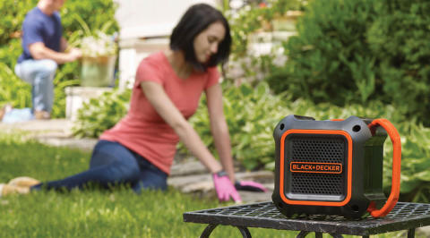 New Compact and Durable BLACK+DECKER™ Bluetooth Speaker Provides High Performance Sound